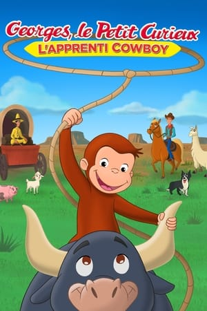 poster Curious George: Go West, Go Wild