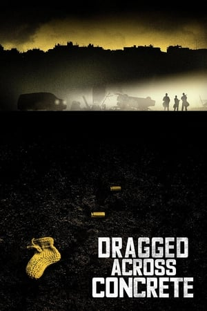 Image Dragged Across Concrete
