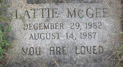 Lattie McGee