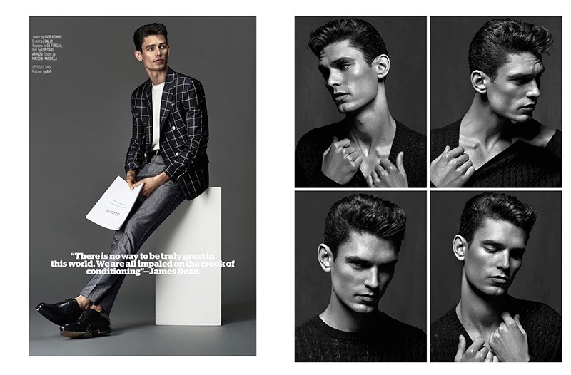 AUGUST MAN MAGAZINE Arthur Gosse by Anthony Meyer. Sonia Logerot, April 2016, www.imageamplified.com, Image amplified (3)