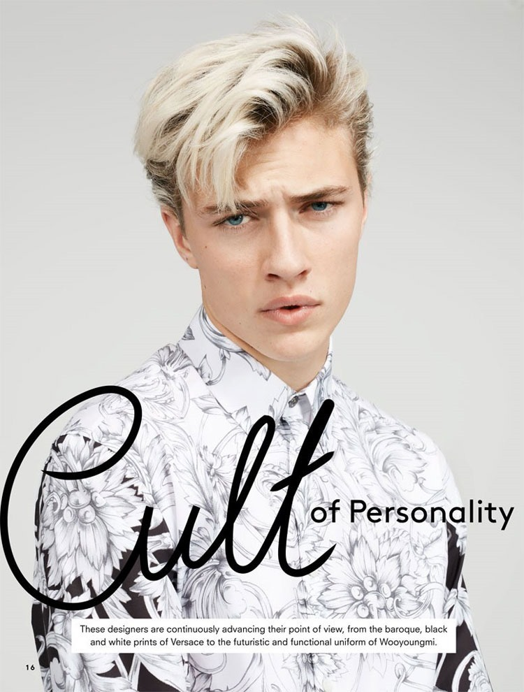 CATALOGUE Lucky Blue Smith for Hudson's Bay Spring 2016. www.imageamplified.com, Image Amplified (1)