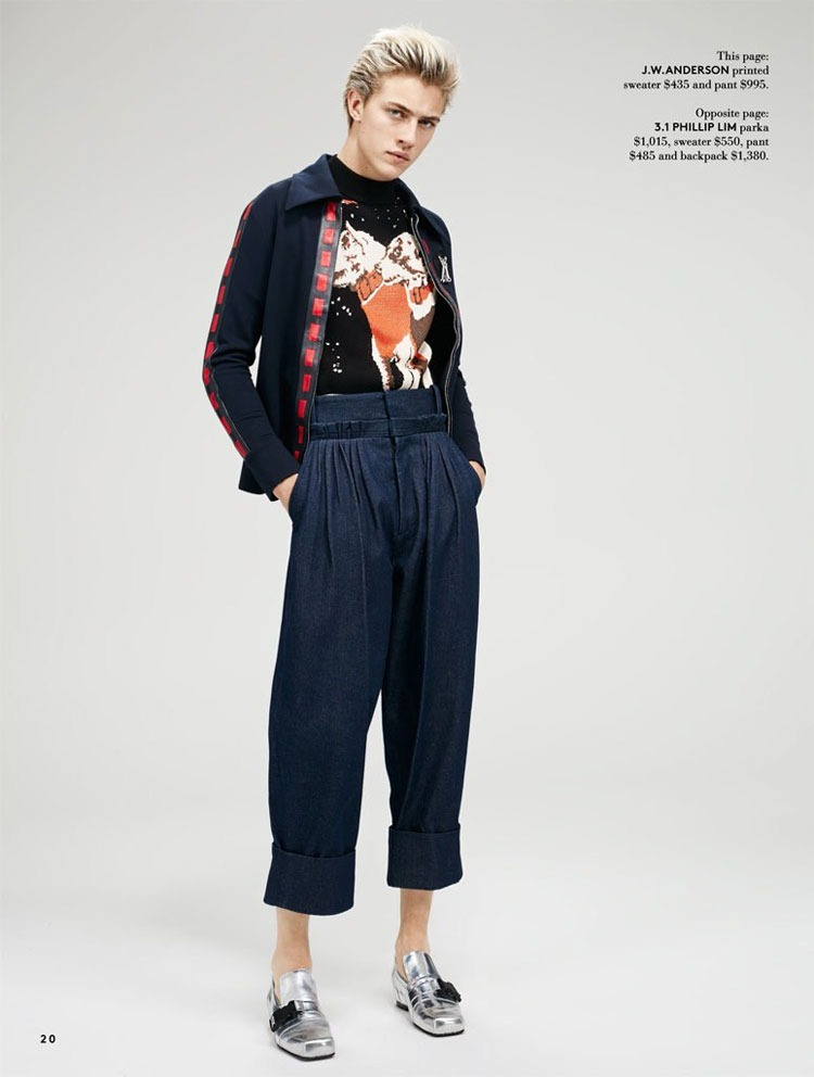 CATALOGUE Lucky Blue Smith for Hudson's Bay Spring 2016. www.imageamplified.com, Image Amplified (5)