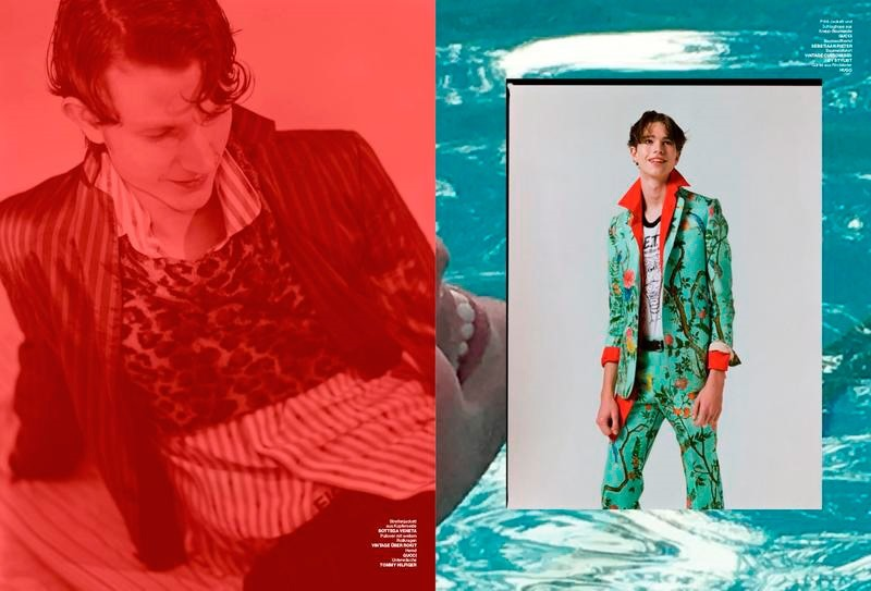 NUMERO HOMME GERMANY Long Hot Summer Just Passed by Harry Carr. Ruben Moreira, Spring 2016, www.imageamplified.com, Image Amplified (2)