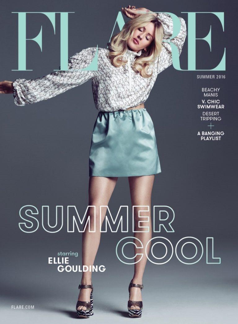 FLARE MAGAZINE Ellie Goulding by Nino Munoz. Pegah Maleknejad, Summer 2016, www.imageamplified.com, Image Amplified (1)