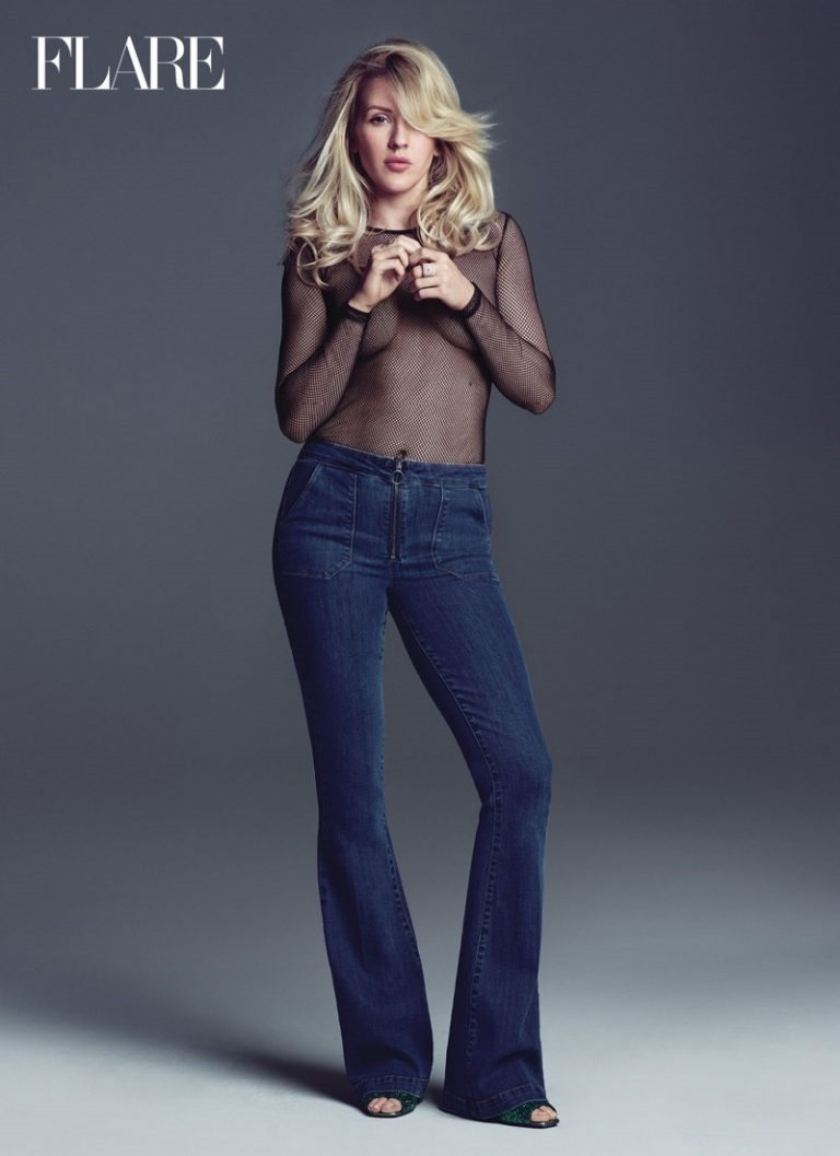 FLARE MAGAZINE Ellie Goulding by Nino Munoz. Pegah Maleknejad, Summer 2016, www.imageamplified.com, Image Amplified (2)