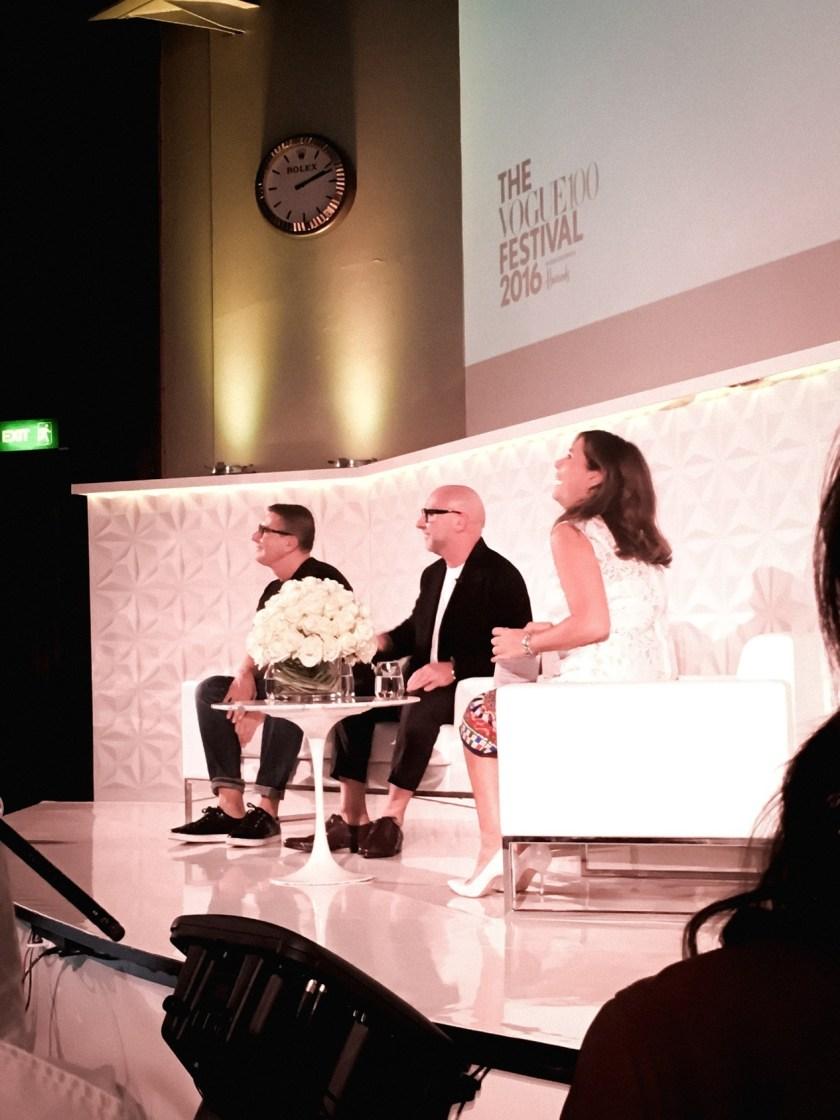 IA UPDATE Domenico Dolce & Stefano Gabbana, Dolce & Gabbana's Italian Journe with Alexandra Shulman at Vogue Festival 2016 by Troy Wise & Rick Guzman. www.imageamplified.com, Image Amplified (7)