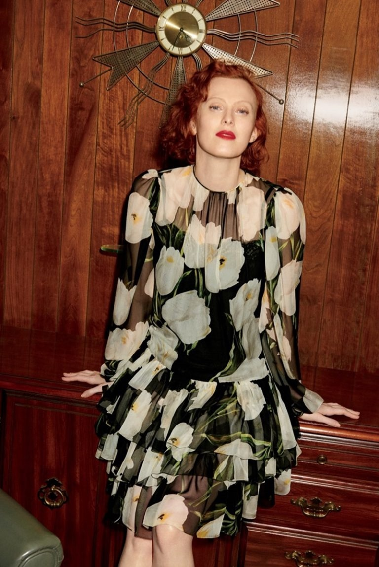 BERGDORF GOODMAN Karen Elson by Tung Walsh. Pre-Fall 2016, www.imageamplified.com, Image Amplified (2)