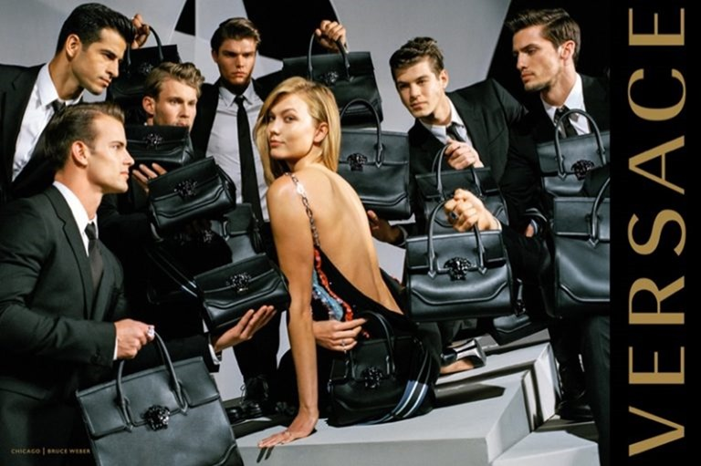CAMPAIGN Karlie Kloss & Gigi Hadid for Versace Fall 2016 by Bruce Weber. www.imageamplified.com, image Amplified (3)