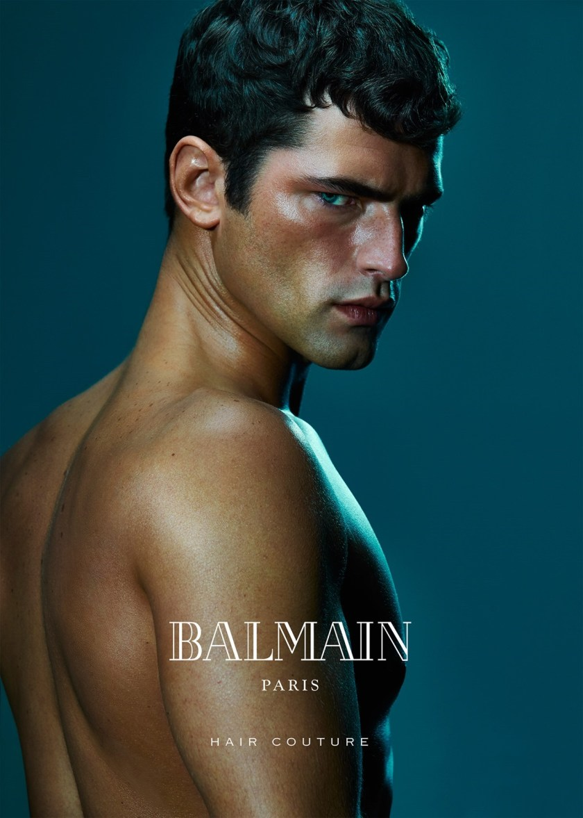 CAMPAIGN Sean O'Pry & Noemie Lenoir for Balmain Hair Couture Summer 2016 by An Le. www.imageamplified.com, Image Amplified (1)