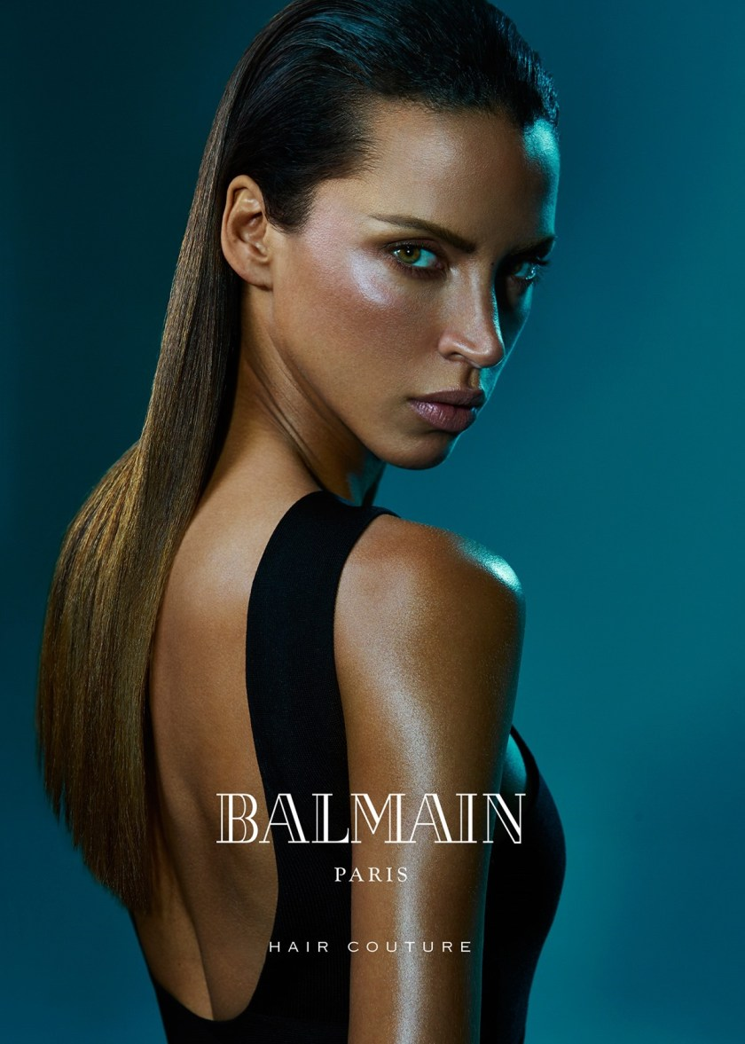 CAMPAIGN Sean O'Pry & Noemie Lenoir for Balmain Hair Couture Summer 2016 by An Le. www.imageamplified.com, Image Amplified (2)