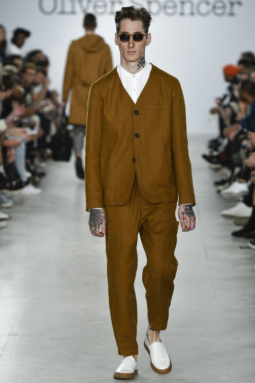 LONDON COLLECTIONS MEN Oliver Spencer Spring 2017. www.imageamplified.com, Image Amplified (1)