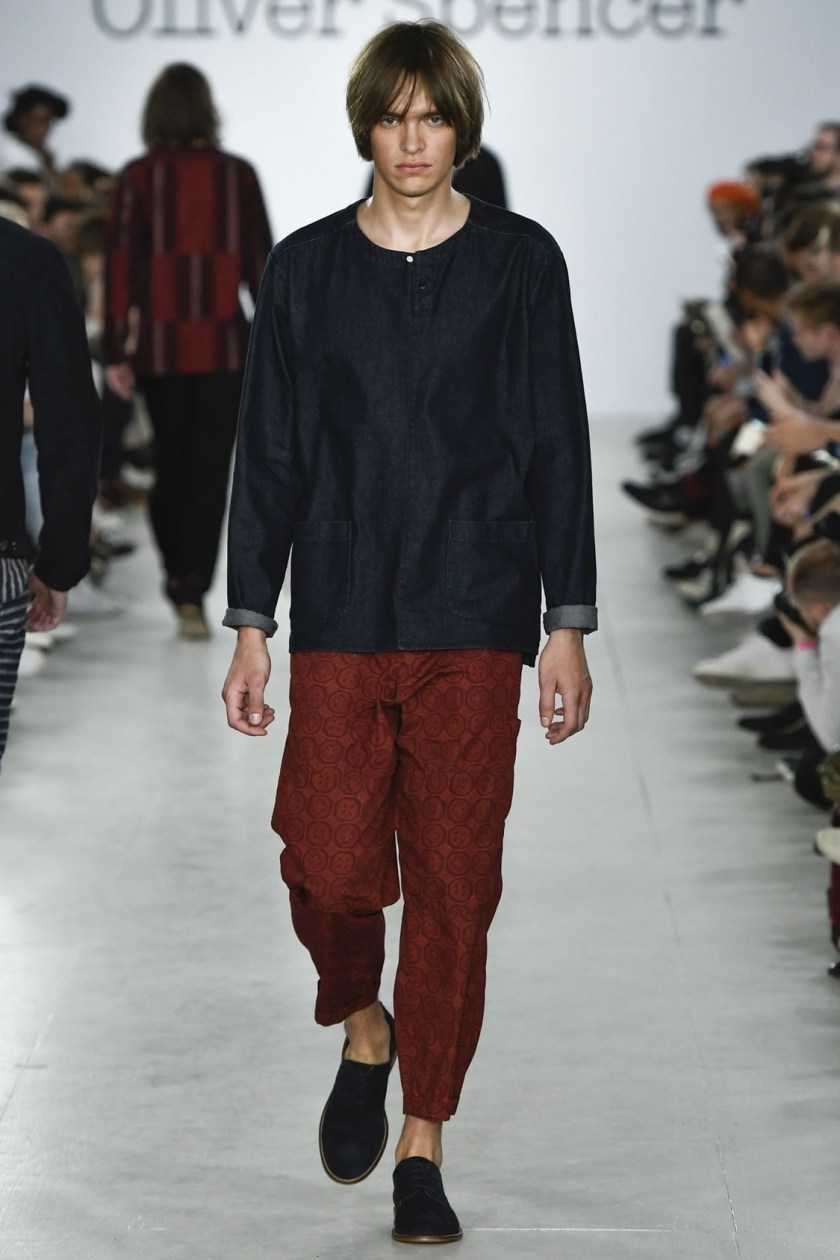 LONDON COLLECTIONS MEN Oliver Spencer Spring 2017. www.imageamplified.com, Image Amplified (17)