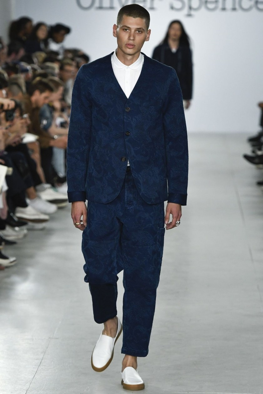 LONDON COLLECTIONS MEN Oliver Spencer Spring 2017. www.imageamplified.com, Image Amplified (3)