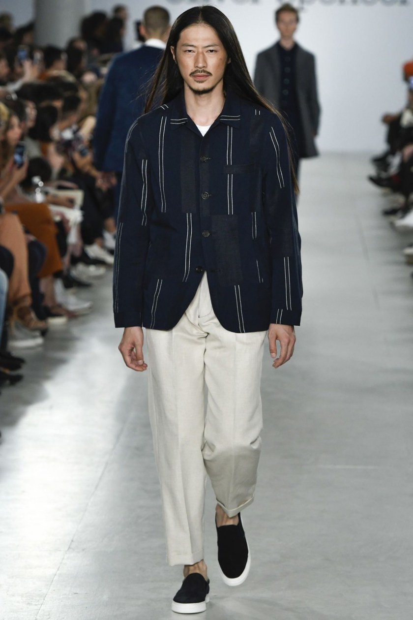 LONDON COLLECTIONS MEN Oliver Spencer Spring 2017. www.imageamplified.com, Image Amplified (4)