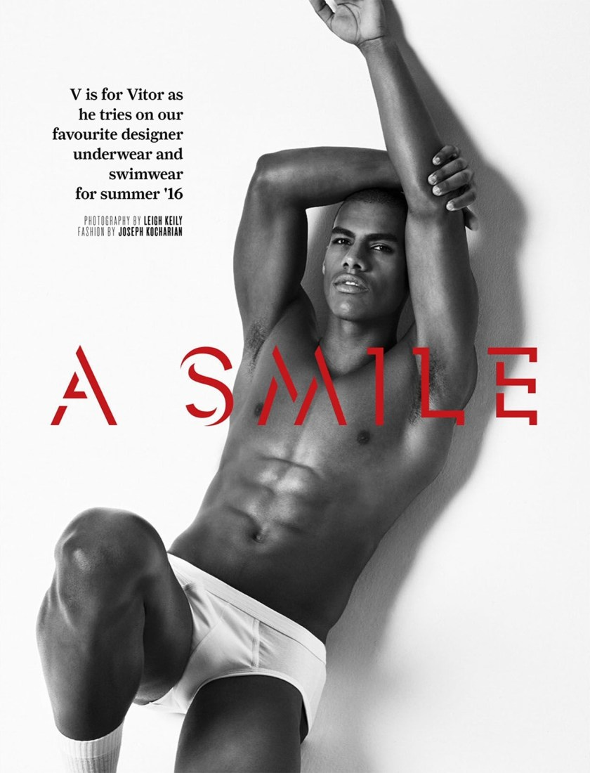 ATTITUDE UK Give Us A Smile by Leigh Keily. Joseph Kocharian, Summer 2016, www.imageamplified.com, Image Amplified