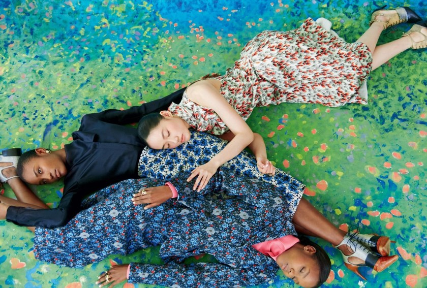 HARPER'S BAZAAR UK A Fresh Look At Fashion by Erik Madigan Heck. Leith Clark, August 2016, www.imageamplified.com, Image Amplified (2)