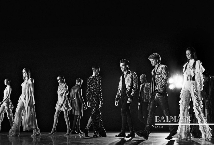 CAMPAIGN Balmain Fall 2016 by Steven Klein. www.imageamplified.com, Image Amplified1