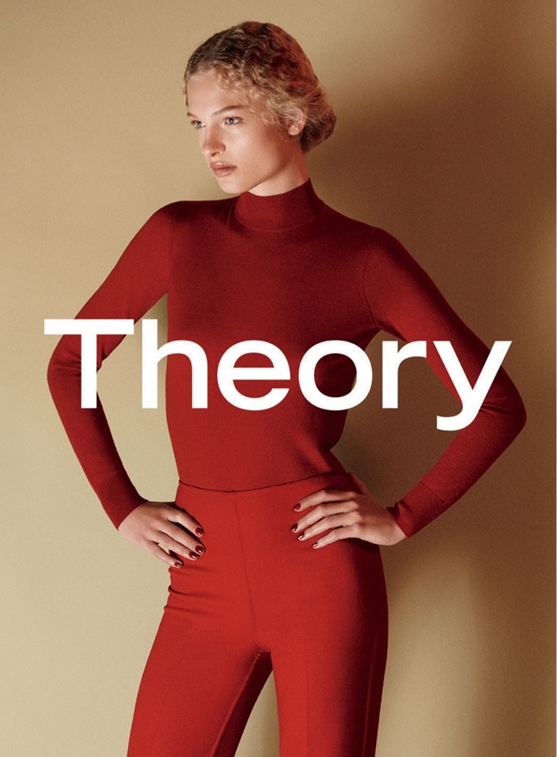 CAMPAIGN Frederikke Sofie & Binx Walton for Theory Fall 2016 by David Sims. www.imageamplified.com, image amplified3