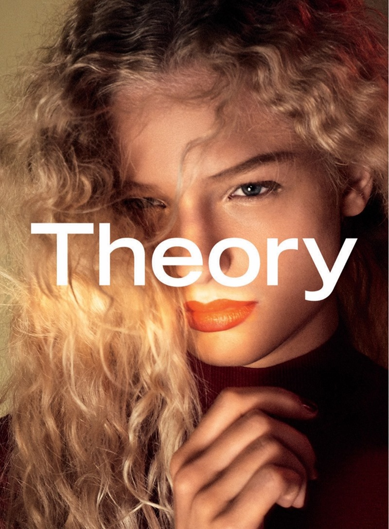 CAMPAIGN Frederikke Sofie & Binx Walton for Theory Fall 2016 by David Sims. www.imageamplified.com, image amplified5