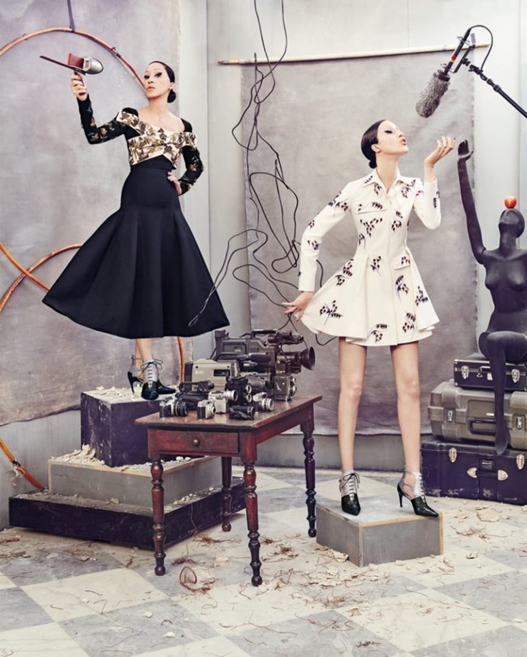 CAMPAIGN Pat & Anna Cleveland for Neiman Marcus Fall 2016 by Ruven AFanador. www.imageamplified.com, Image Amplified (13)
