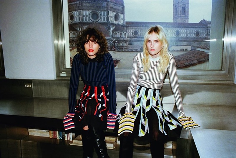 CAMPAIGN Steffy Argelich & Harleth Kuusik for Emilio Pucci Fall 2016 by Cameron McCool. Vittoria Cerciello, www.imageamplified.com, Image Amplified4
