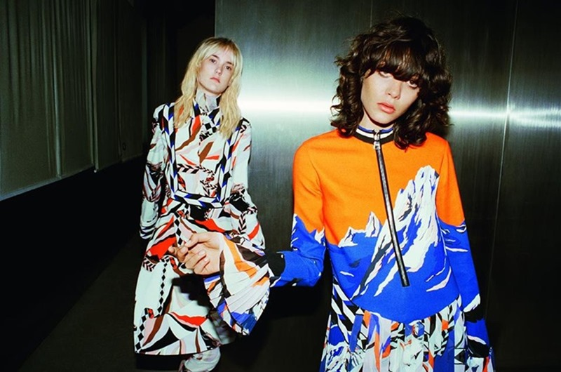 CAMPAIGN Steffy Argelich & Harleth Kuusik for Emilio Pucci Fall 2016 by Cameron McCool. Vittoria Cerciello, www.imageamplified.com, Image Amplified6