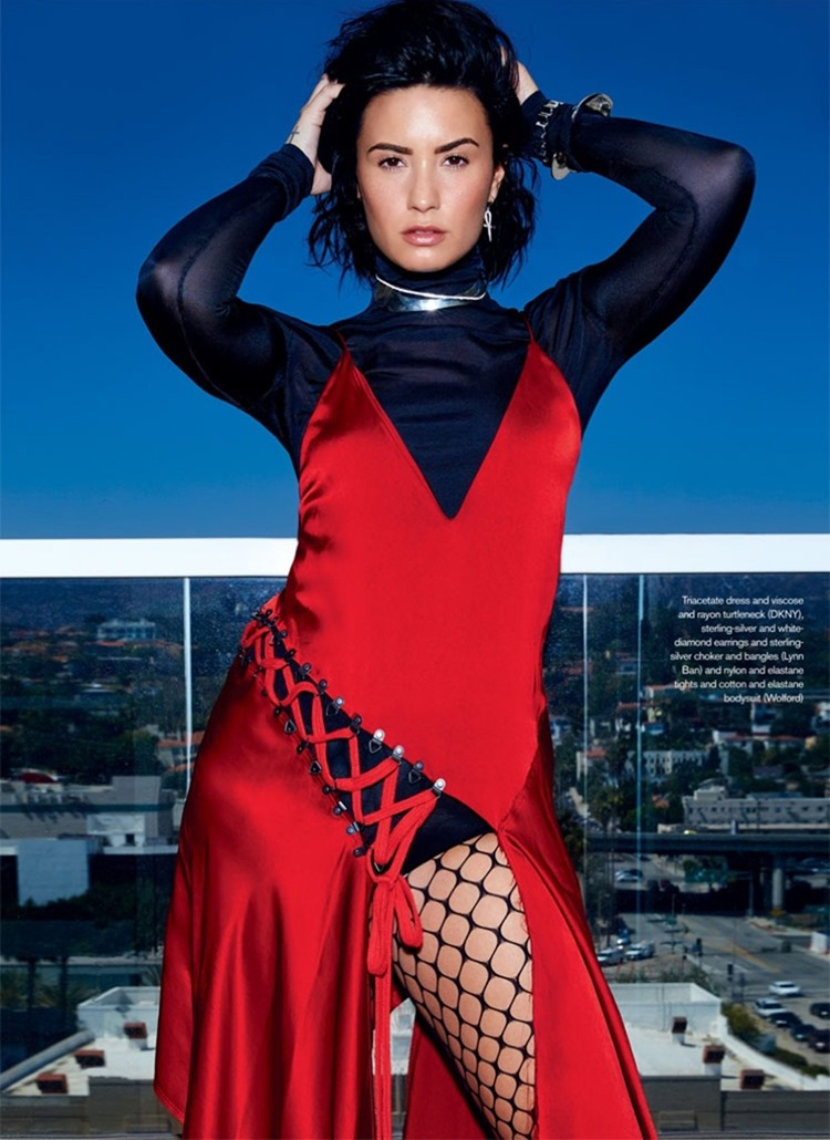 ELLE CANADA Demi Lovato by Max Abadian. Juliana Schiavinatto, September 2016, www.imageamplified.com, image Amplified2