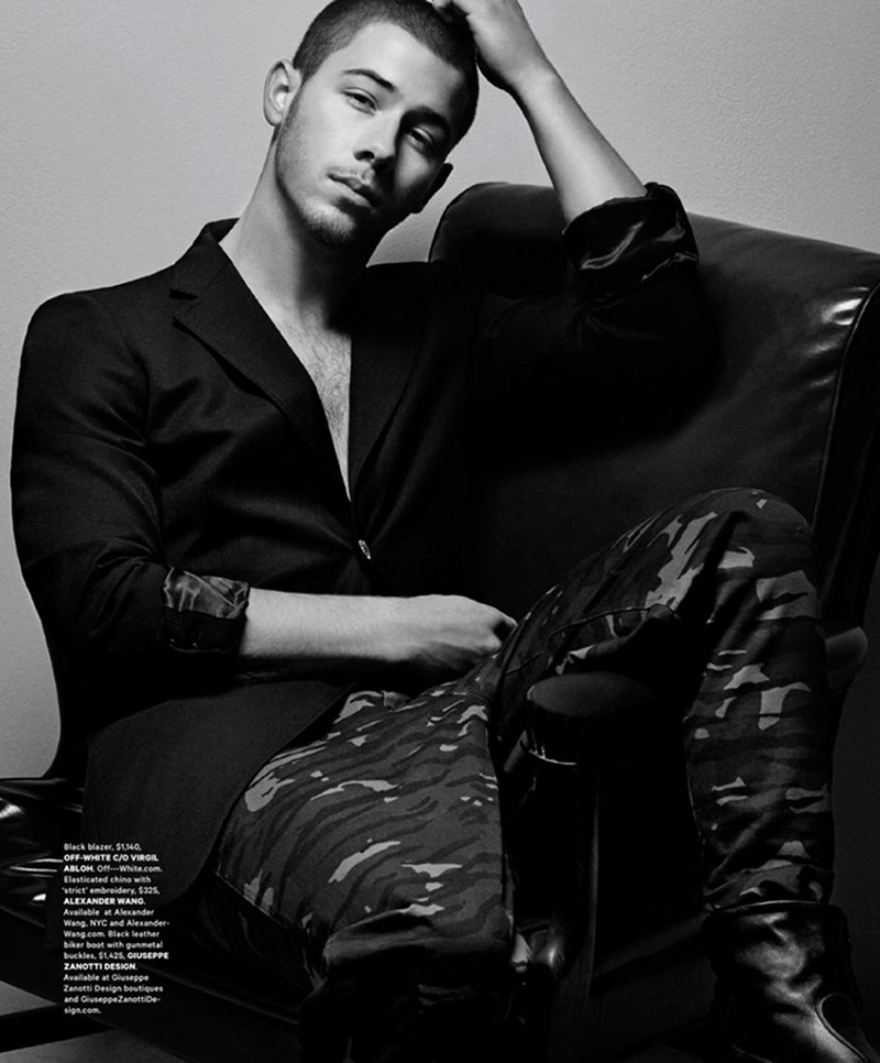 ESSENTIAL HOMME Nick Jonas by Greg Lotus. Terry Lu, Summer 2016, www.imageamplified.com, Image Amplified2