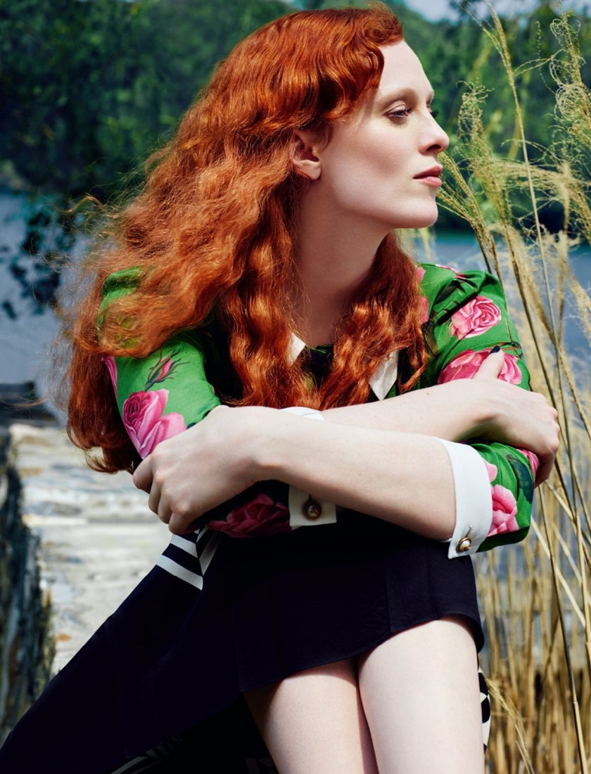 HARPER'S BAZAAR RUSSIA Karen Elson by Rachel Smith. Anna Katsanis, August 2016, www.imageamplified.com, Image Amplified2