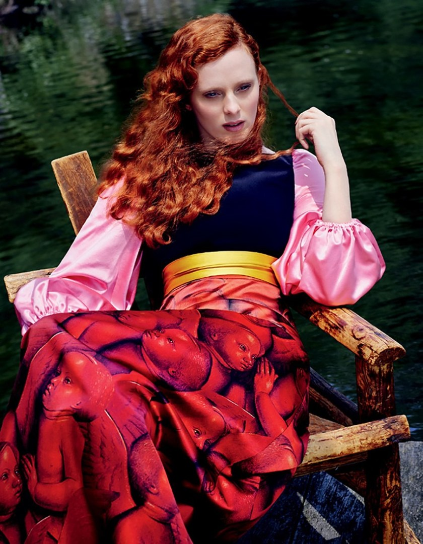 HARPER'S BAZAAR RUSSIA Karen Elson by Rachel Smith. Anna Katsanis, August 2016, www.imageamplified.com, Image Amplified3