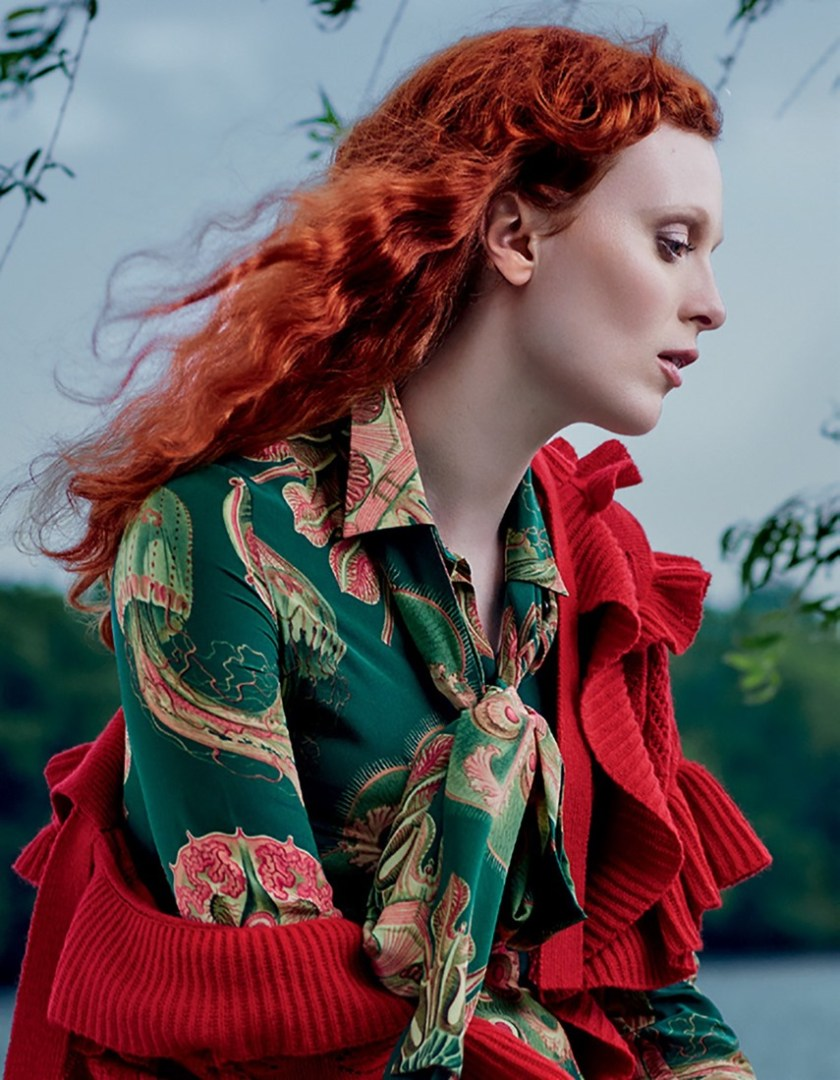 HARPER'S BAZAAR RUSSIA Karen Elson by Rachel Smith. Anna Katsanis, August 2016, www.imageamplified.com, Image Amplified7
