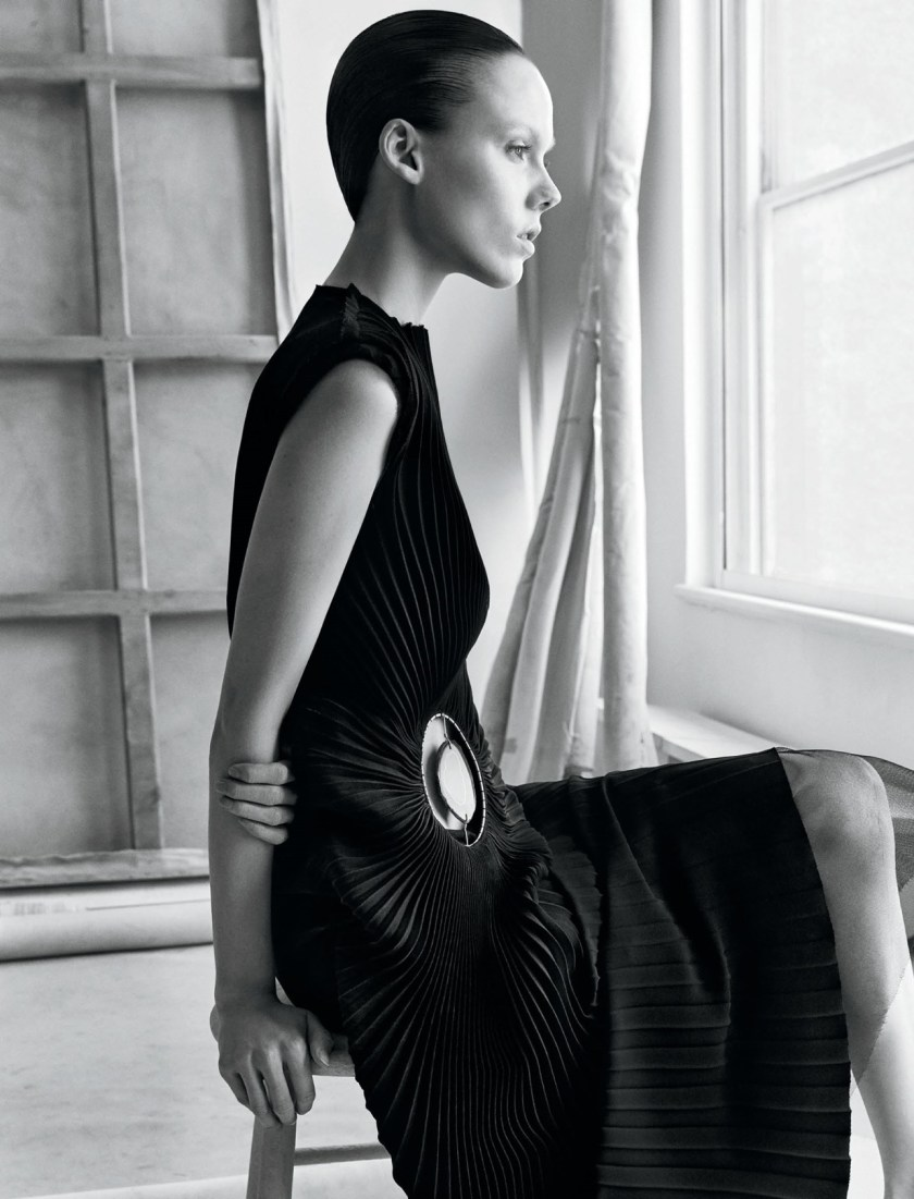 INTERVIEW MAGAZINE Kiki Willems by Patrick Demarchelier. Karl Templer, August 2016, www.imageamplified.com, Image Amplified8