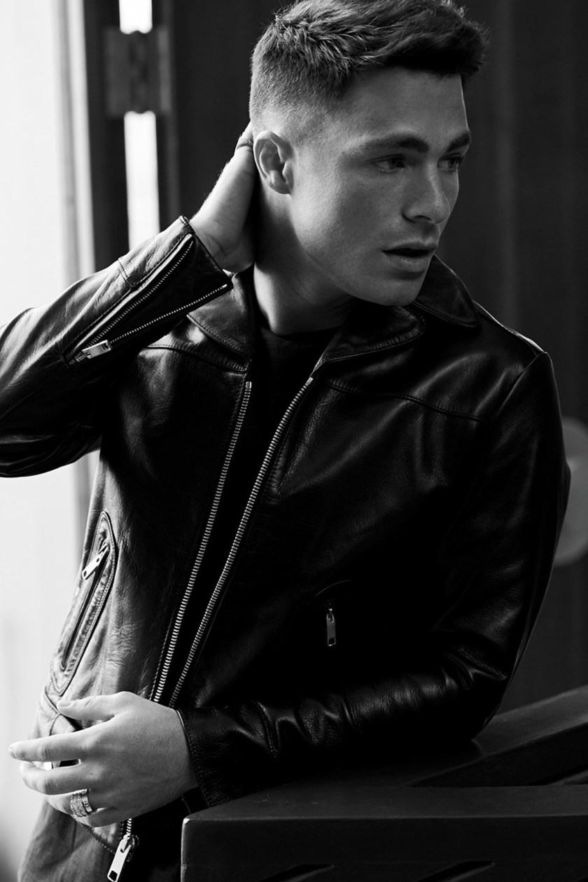 OUT MAGAZINE Colton Haynes by Blair Getz Mezibov. Grant Woolhead, September 2016, www.imageamplified.com, Image Amplified5