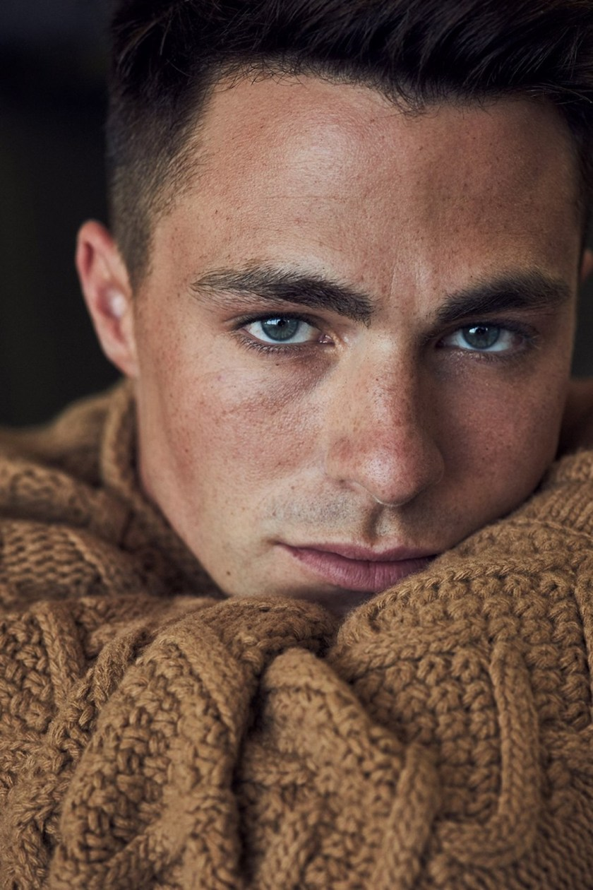OUT MAGAZINE Colton Haynes by Blair Getz Mezibov. Grant Woolhead, September 2016, www.imageamplified.com, Image Amplified1