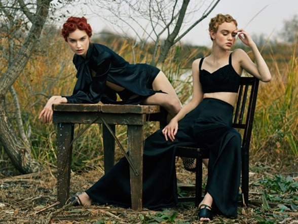 VOGUE BRAZIL Rhiannon McConnell & Cece Post by Hao Zeng. Anna Katsanis, Fall 2016, www.imageamplified.com, image Amplified6