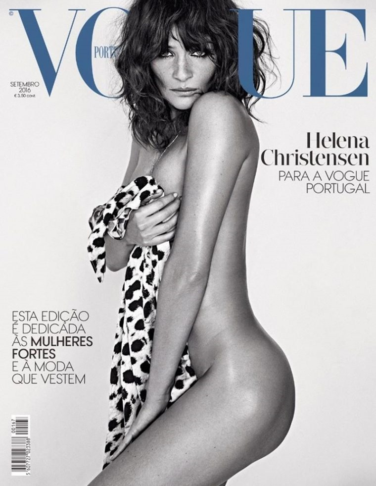 VOGUE PORTUGAL Helena Christensen by An Le. Paul Macedo, September 2016, www.imageamplified.com, Image Amplified1