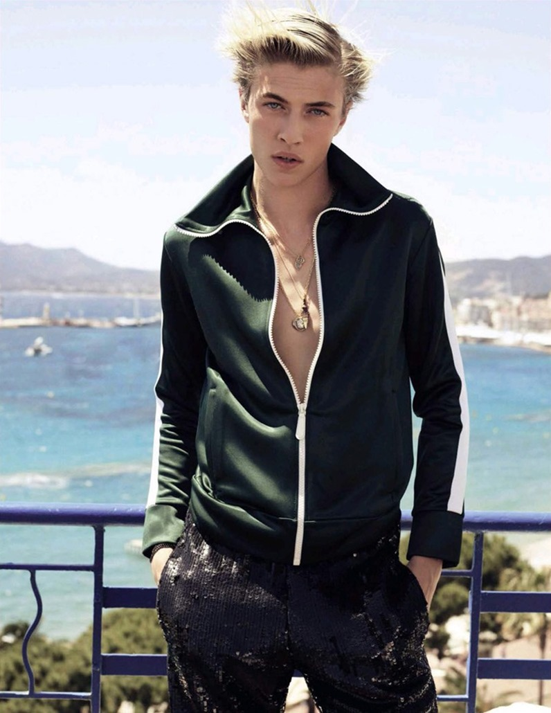 VOGUE SPAIN Lucky Blue Smith by Nico Bustos, August 2016, www.imageamplified.com, Image Amplified4