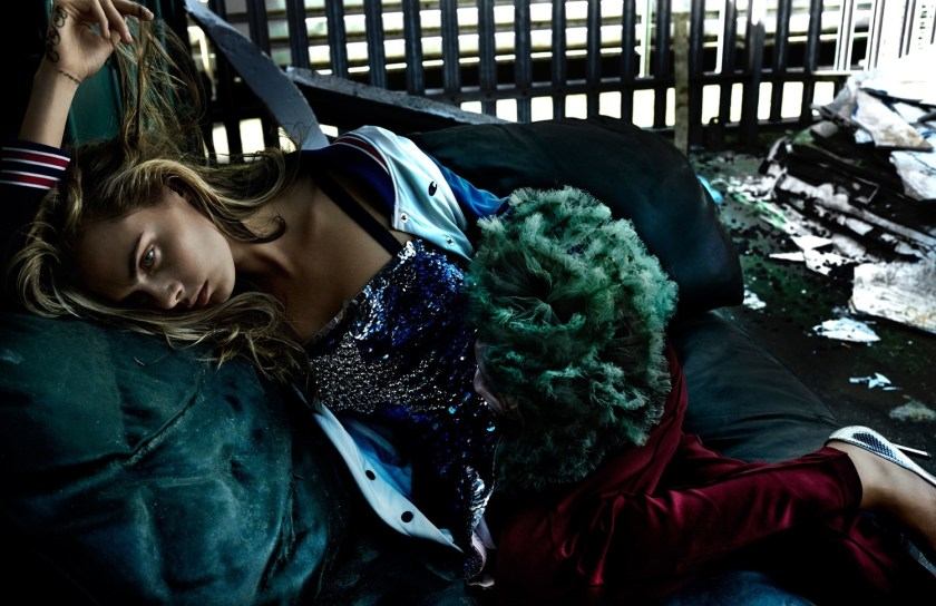 VOGUE UK Cara Delevingne by Mario Testing. Lucinda Chambers, September 2016, www.imageamplified.com, Image Amplified9