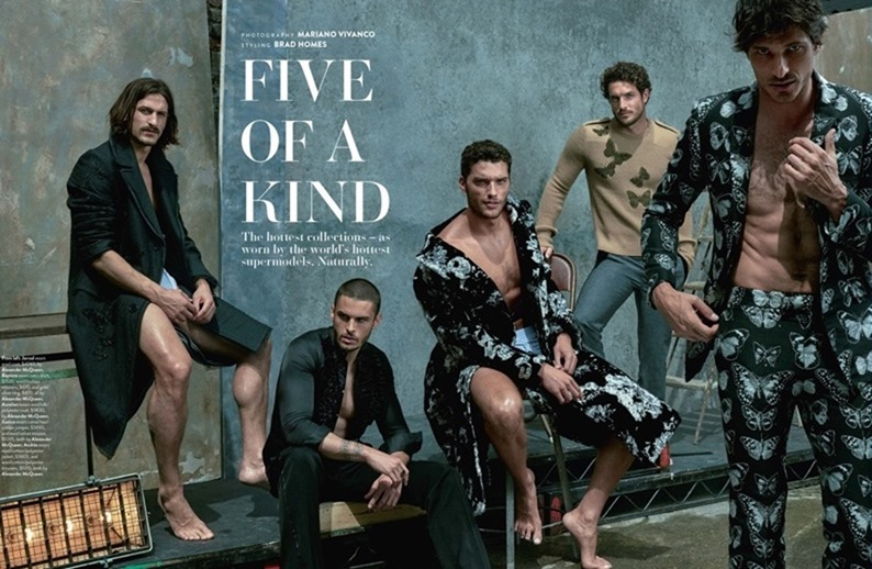 GQ AUSTRALIA Five of a Kind by Mariano Vivanco. Brad Homes, September 2016, www.imageamplified.com, Image Amplified (1)
