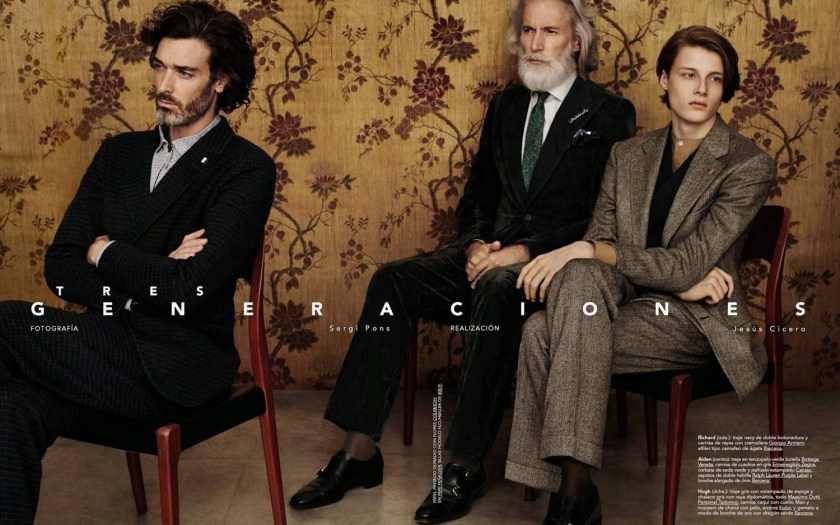 GQ SPAIN Three Generations by Sergi Pons. Jesus Cicero, September 2016, www.imageamplified.com, Image Amplified (1)