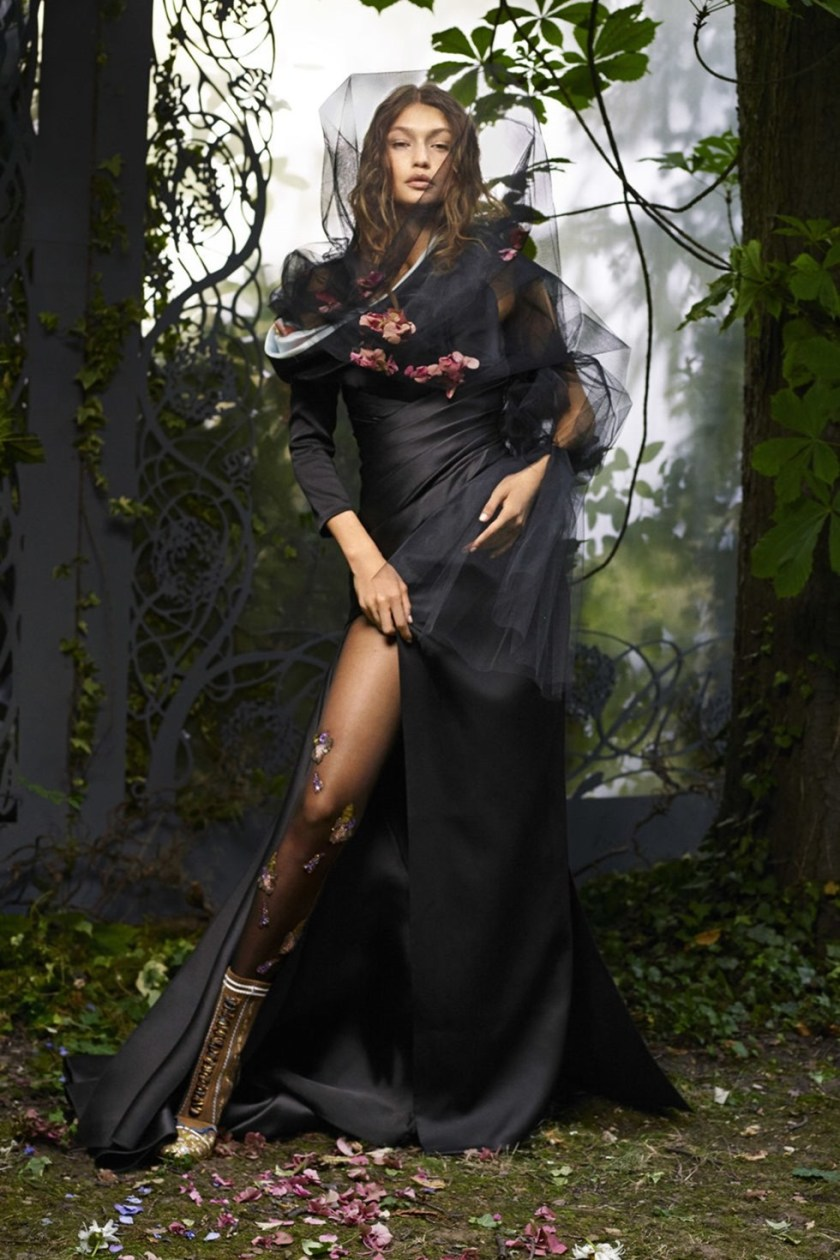 HARPER'S BAZAAR MAGAZINE Gigi hadid by Karl Lagerfeld. October 2016, www.imageamplified.com, Image Amplified (5)