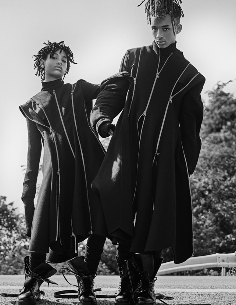 INTERVIEW MAGAZINE Jaden Smith & Willow Smith by Steven Klein. Karl Templer, September 2016, www.imageamplified.com, Image Amplified (7)