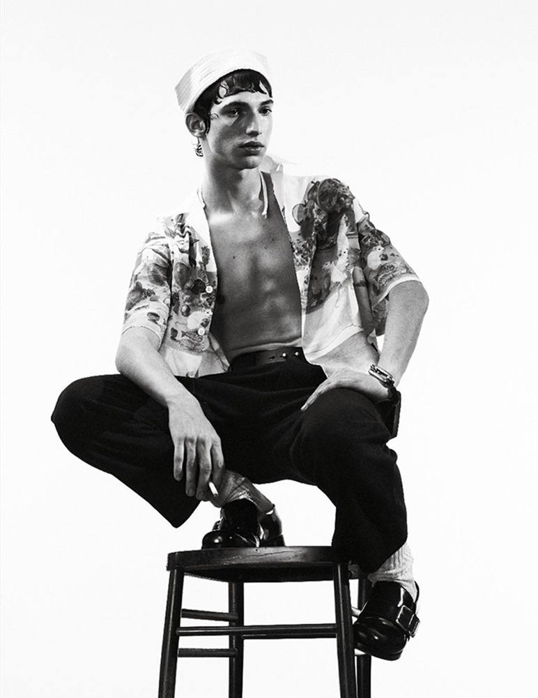 MAN ABOUT TOWN Cargo de nuit by Willy Vanderperre. Olivier Rizzo, Fall 2016, www.imageamplified.com, Image Amplified (29)