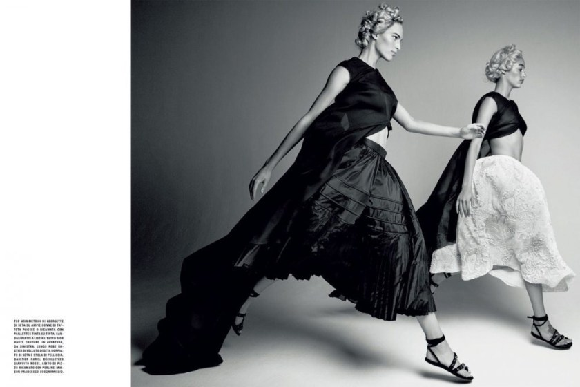 VOGUE ITALIA VAnessa Axente & Imaan Hammam by Patrick Demarchelier. September 2016, www.imageamplified.com, Image Amplified (9)