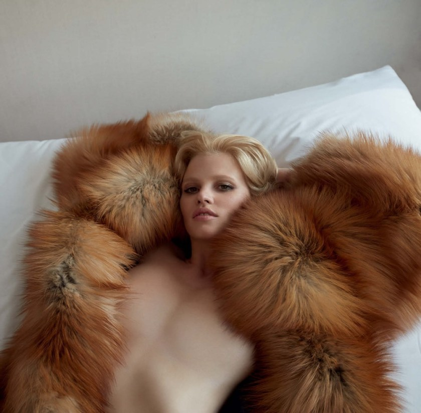 VOGUE GERMANY Lara Stone by Camilla Akrans. Nicola Knels, November 2016, www.imageamplified.com, Image Amplified11
