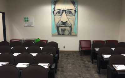 "Prosecutor's office objects to artist Bob Dorsey's ""Fifty"" exhibition.  Demand that the paintings be removed.  