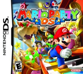 Mario Party DS Boxart Cover