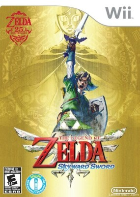 The Legend of Zelda: Skyward Sword Boxart Cover