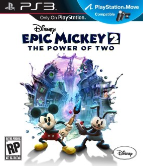 Epic Mickey 2: The Power of Two Boxart Cover