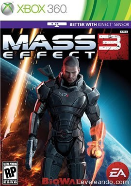Mass Effect 3 Boxart Cover